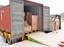 集装箱装卸平台之固定式登车桥